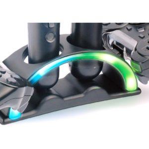 Cargador Cuadruple Para Sony Dualshock 3 Ps3 Move